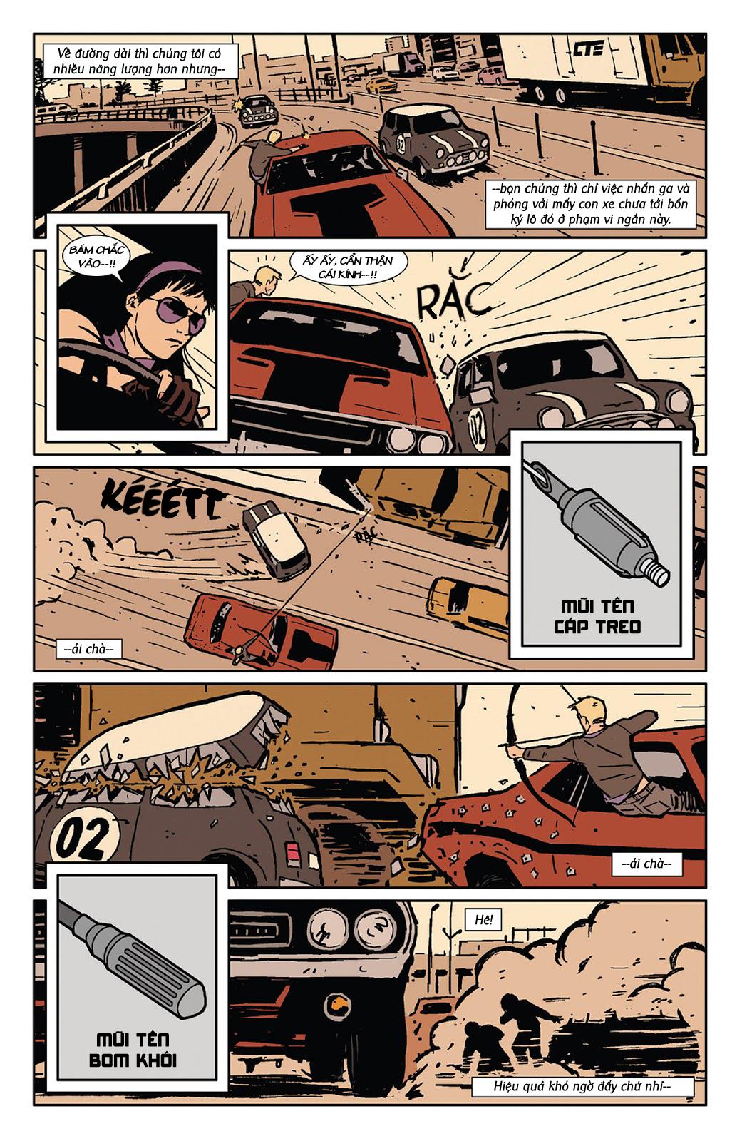 Hawkeye 2012 chap 3 - Trang 17