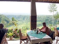 Lunch at Lereng Agung