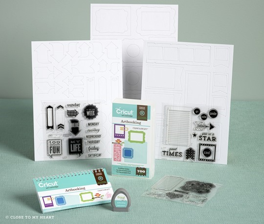 CTMH Cricut Artbooking Bundle
