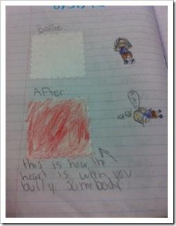Bully writing 3