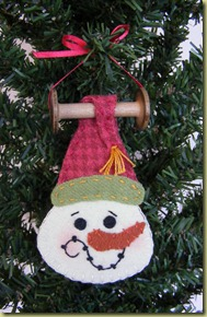 333_Bobbin Applique Snowman 333