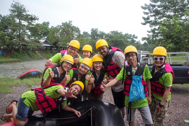 River Rafting at Nakhon Nayok