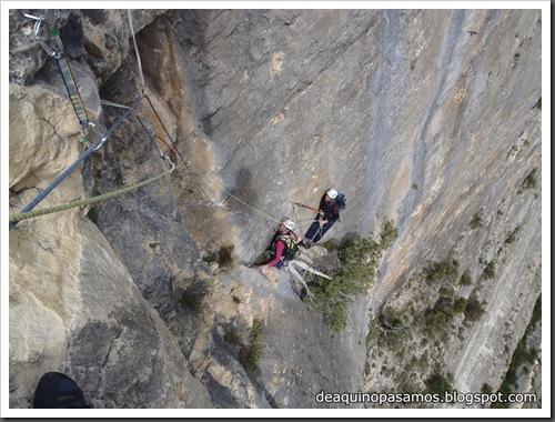 Via Gali-Molero 500m 6b  Ae (V  A1 Oblig) (Roca Regina, Terradets) (Victor) 0068