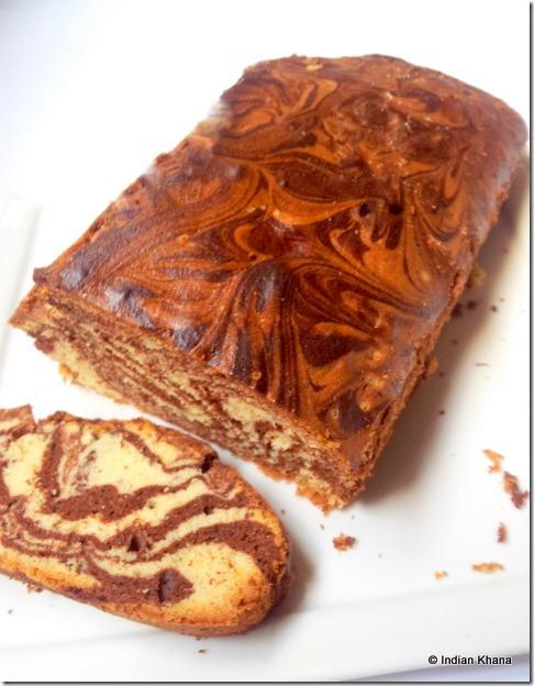 Marmer Cake marble cake