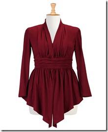 Peplum-trend dress