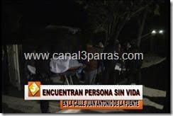 IMAG. ENCUENTRAN PERSONA SIN  VIDA EN LA CALLE JUAN ANTONIO DE LA FUENTE.mp4_000051217
