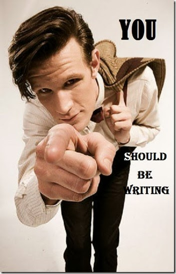 You Should be Writing 11th Doctor