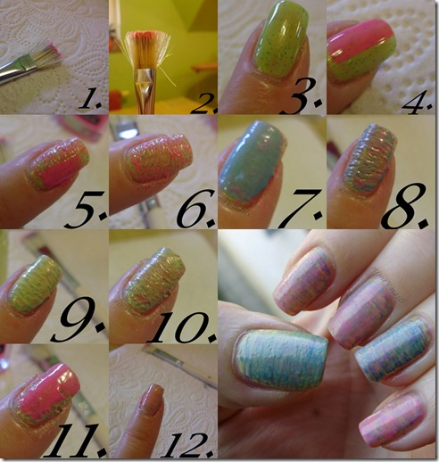 aquarel nails tutorial