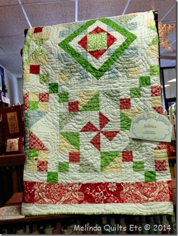 0814 Christmas Quilt