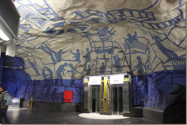 24 stations de métro stupéfiantes
