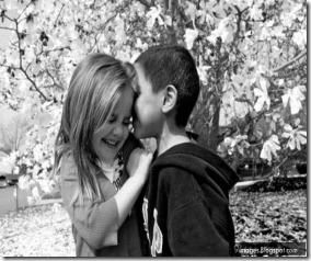 Kid-kissing-little-couple-romantic-cute-shy-girl-hug