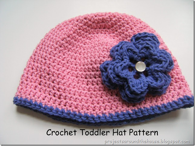 Crochet Hat Patterns For One Year Old : Projects Around the House: Crochet Toddler Hat Pattern