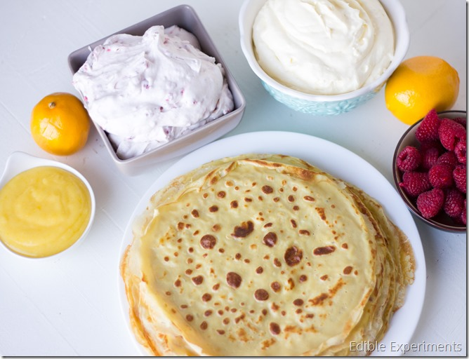 Meyer Lemon and Raspberry Crepe Cake-6
