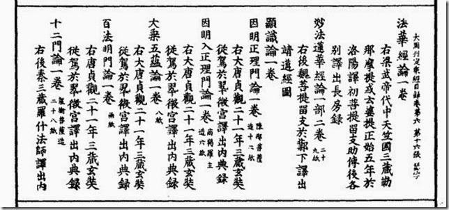 391 《大周刊定眾經目錄》卷六 695年