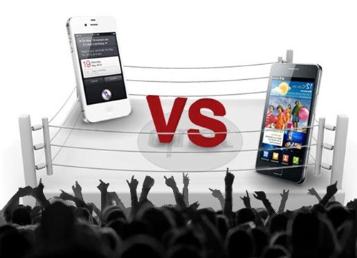 Samsung Galaxy S2 VS Apple