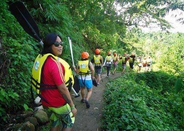water rafting, laguna