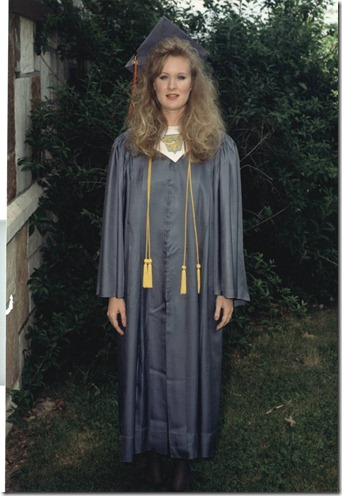 Sharida HS Valedictorian May 1990