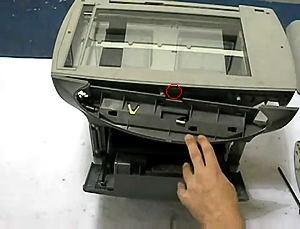 Fix HP 3300 3330 Scanner Bulb Warm Up Error (11)