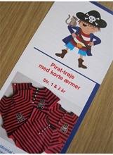 Ediths pirattrøje