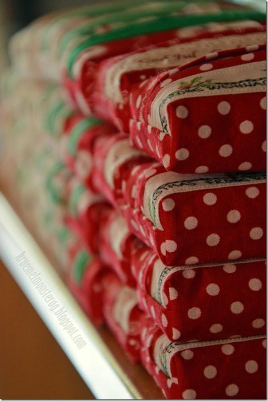 6 von 7 Sachen - Weihnachtstatütas verstaut