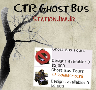 CTR Ghost Bus II (StationJimJr) lassoares-rct3