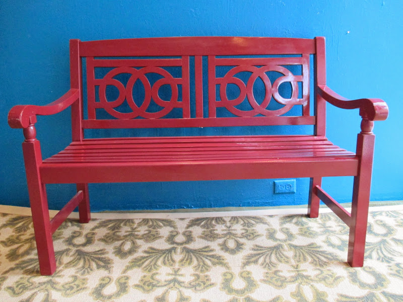 Asian Style Bench