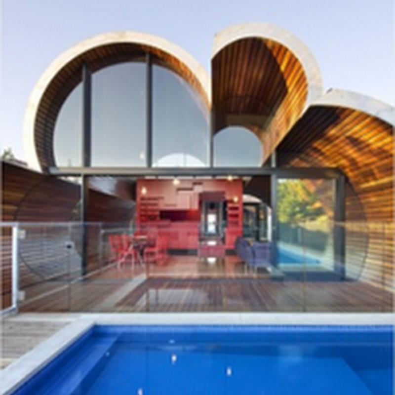 Hermosos diseños arquitectónicos, reales e imaginarios