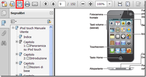 Scaricare manuale Apple in documento PDF