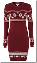 Linea Weekend Snowflake Knit Dress