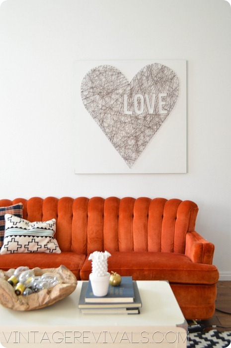 How To Make String Art @ Vintage Revivals