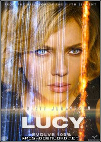 5450356de393b Lucy Legendado RMVB + AVI HDRip