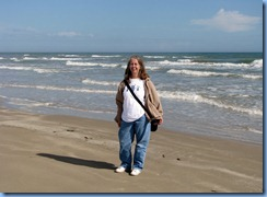 7291 Texas - PR-22 East (South Padre Island Dr) - Padre Island National Seashore - Malaquite Visitor Center - Gulf of Mexico