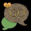 GO SMS THEME/GreenLeopard4U icon
