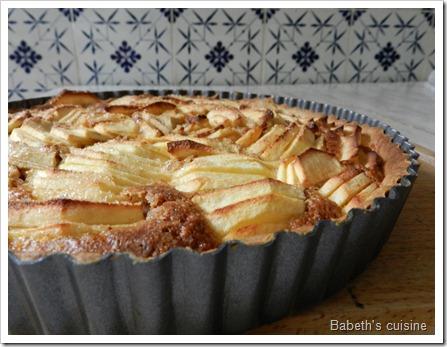 tarte pommes noisettes