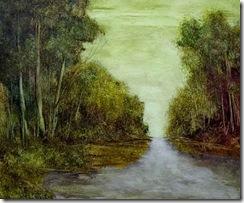 Pintor Fernando Torterolo, nacido en Rancagua, Chile, 1925-2000.