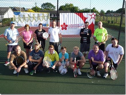 Wistaston 12-hour Tennis-athon - Saturday 29th June 2013