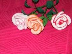 3 rózsa