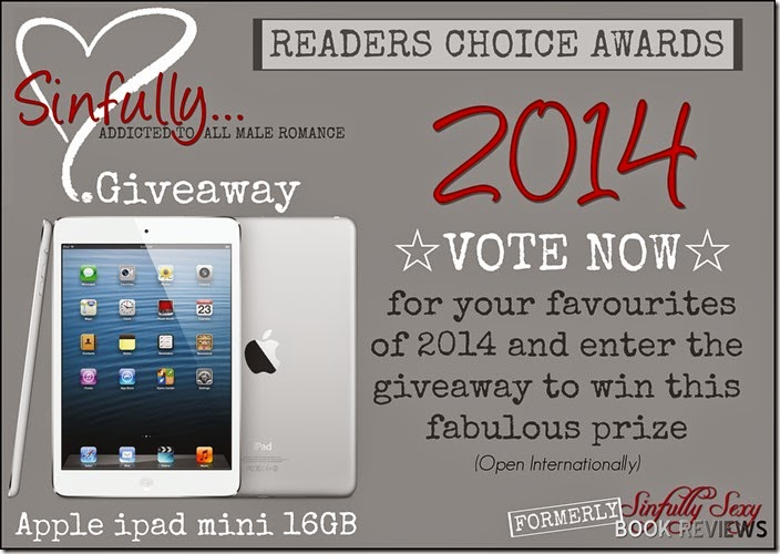 2014 Readers Choice Giveway