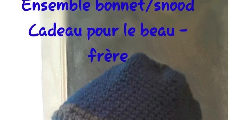 1 2 3 perlines ensemble bonnet snood pour le beau fr re - Idee cadeau beau frere ...