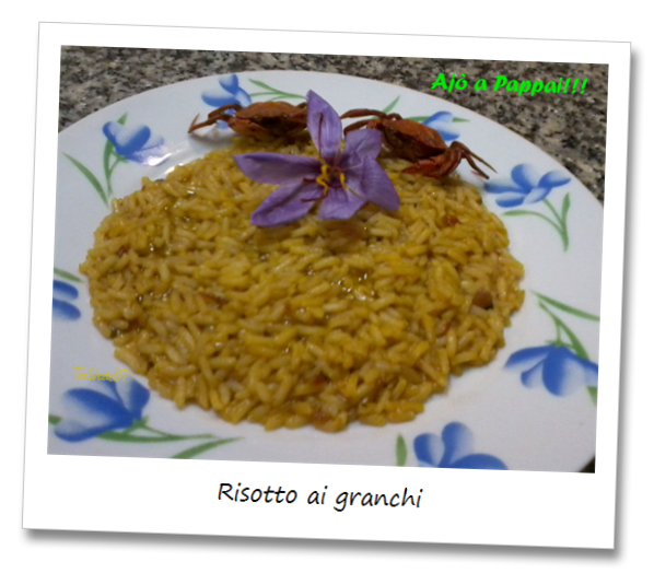 Immagine del piatto risotto ai granchi