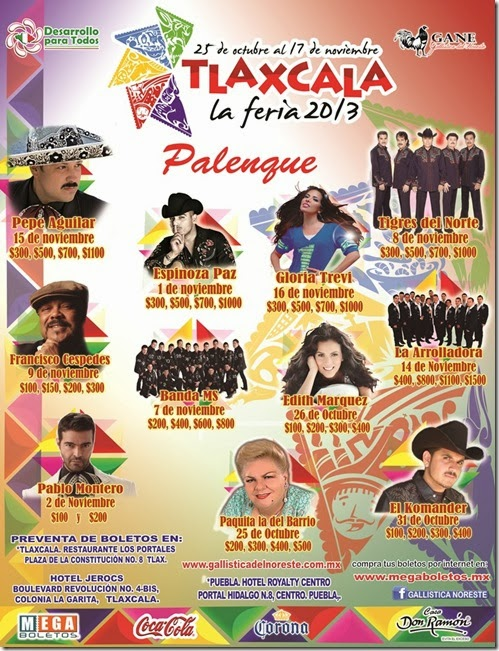 cartelerapalenqueferiadetlaxcala2013