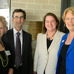 Sally Turnbull, Ashley Ryan, Mary, Jan Miller - Opening of the Birralee redevelopment