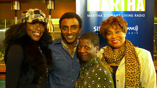Tren'ness Woods-Black, Marcus Samuelsson, Thelma Golden and Vy Higginsen