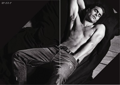 Jon Kortajarena for Armani Jeans F/W 11-12 Catalogue