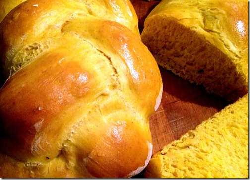 pumpkin-challah-bread-baking-home-braided