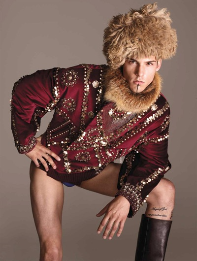Matthias Vriens-McGrath for Zoo magazine No. 32 F/W 2011.  Styled by Nicolas Klam.