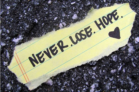 never_lose_hope_quote_quote
