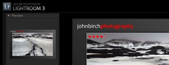 Lightroom Star Ratings
