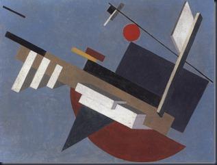 El Lissitzky Proun, 1923