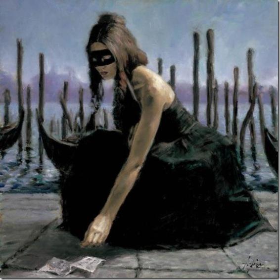 Fabian Perez 1967 - Argentine Figurative painter - Reflections of a Dream - Tutt'Art@ (11)
